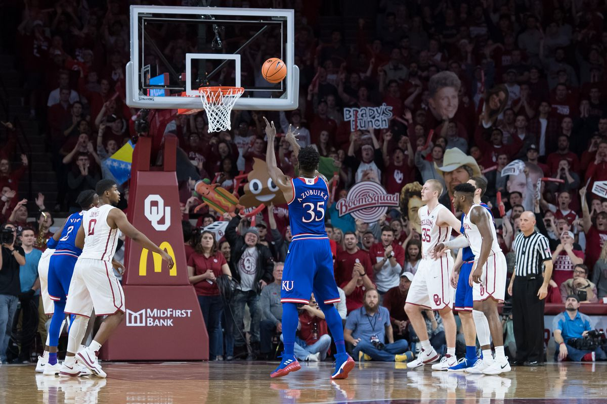 Police called on Kansas fan determined to offer players free-throw help