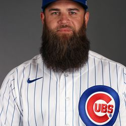 The magnificent facial hair of Mike Napoli