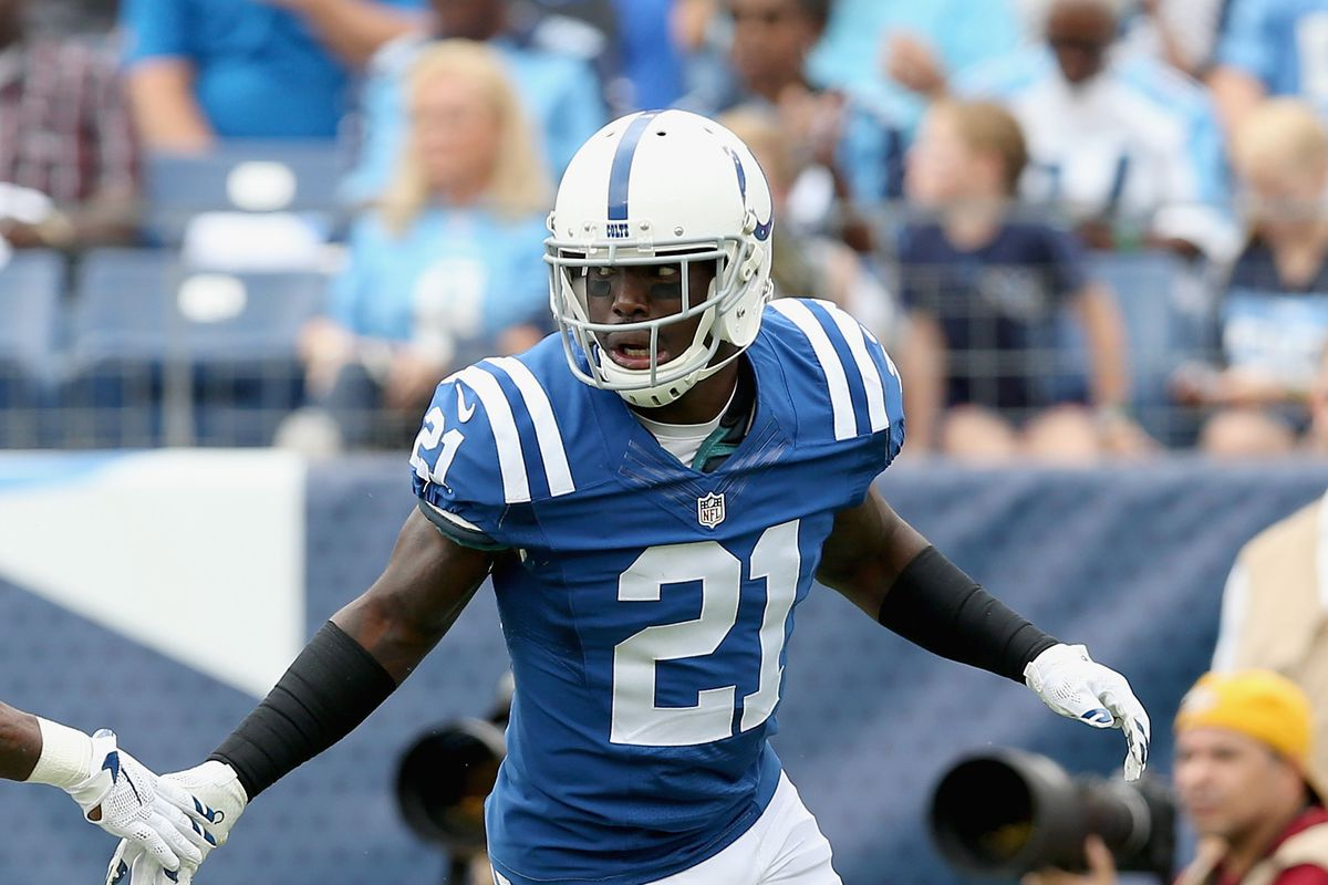 Vontae Davis wants Colts to sign Dwight Freeney Stampede Blue