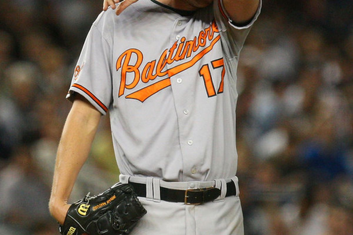 Will 2012 be kinder to Brian Matusz than 2011 was?  That's like asking whether your dinner will be better than your lunch was -- if your lunch was a pile of scrap metal washed down with lighter fluid.