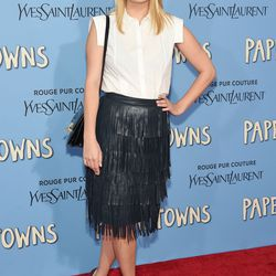 Mischa Barton at the New York premiere of <i>Paper Towns</i> on July 21st.