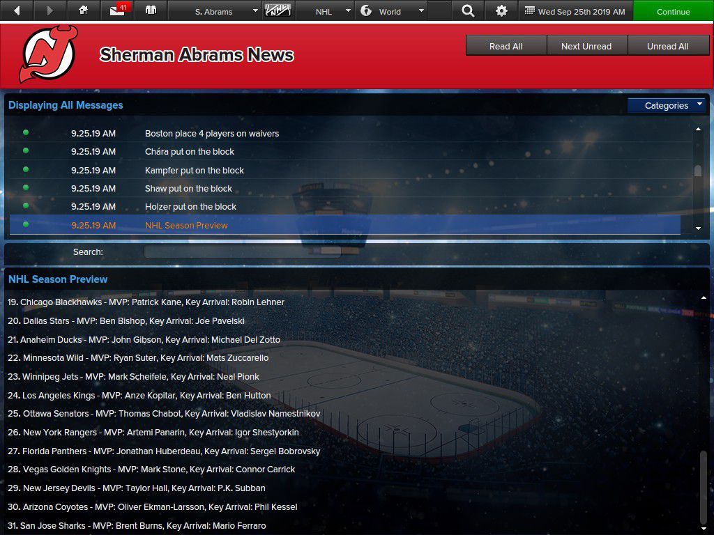 Devils predicted to finish 29th in EHM