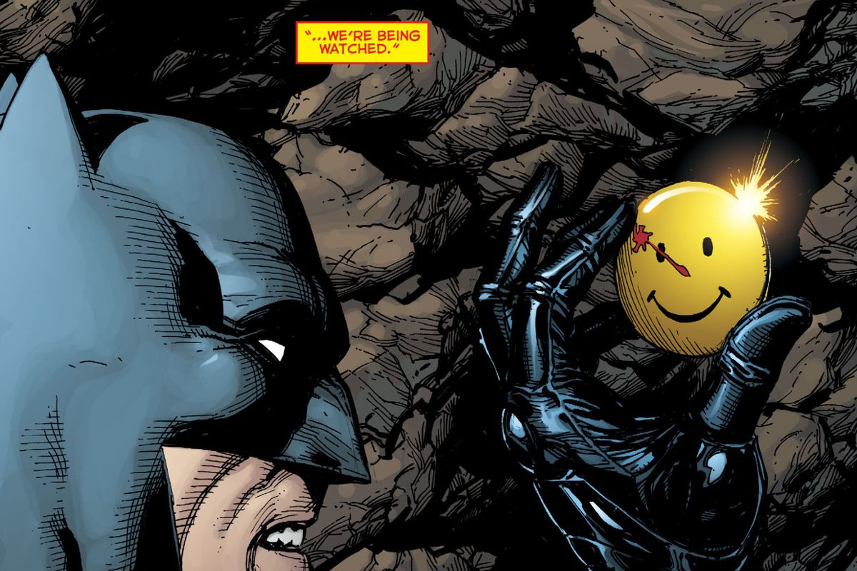 Why Dc Comics Cant Use The Most Iconic Watchmen Image Outside Of