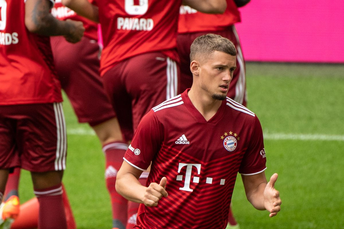 Team presentation and training FC Bayern