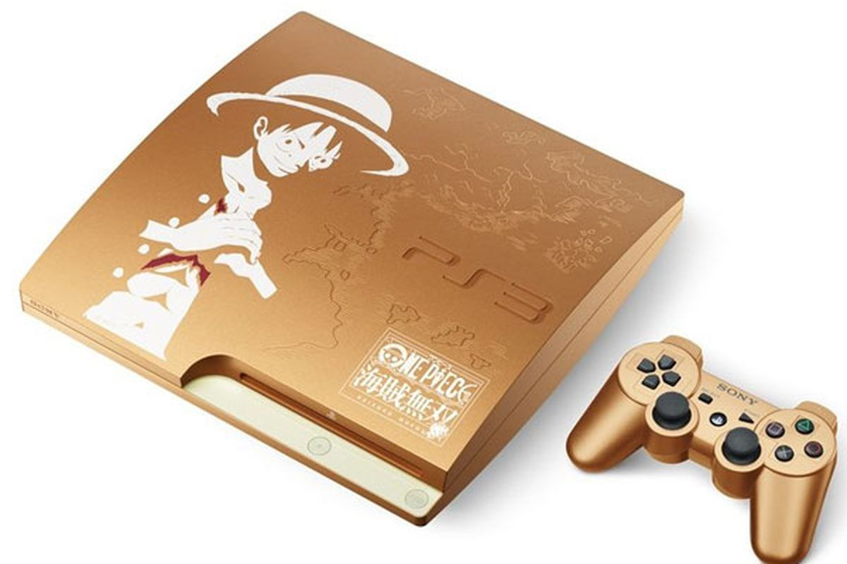 Gold PlayStation 3 with One Piece: Pirate Warriors coming