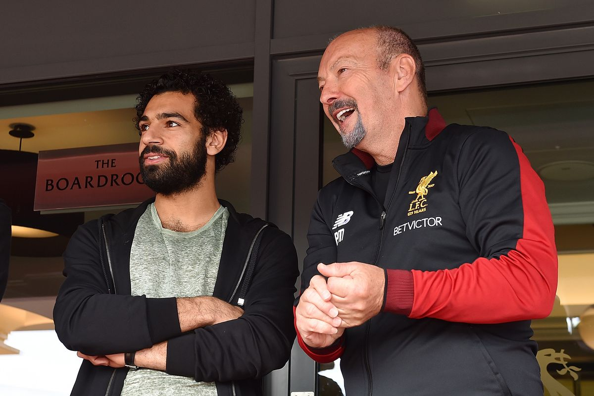 New Signing Mohamed Salah Takes a Tour Around Anfield
