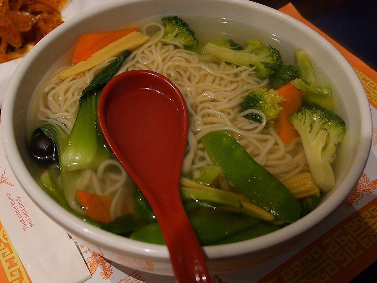 Hand pulled noodles at Slurp Slurp Noodles in Chinatown.   Brian Rich/Sun-Times