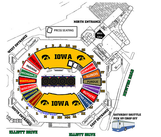 So Youre Thinking About Going To The Big Ten Wrestling Tournament
