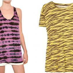 Proenza won't allow photos at the sample sale, but we can assure you we saw both of these tops.