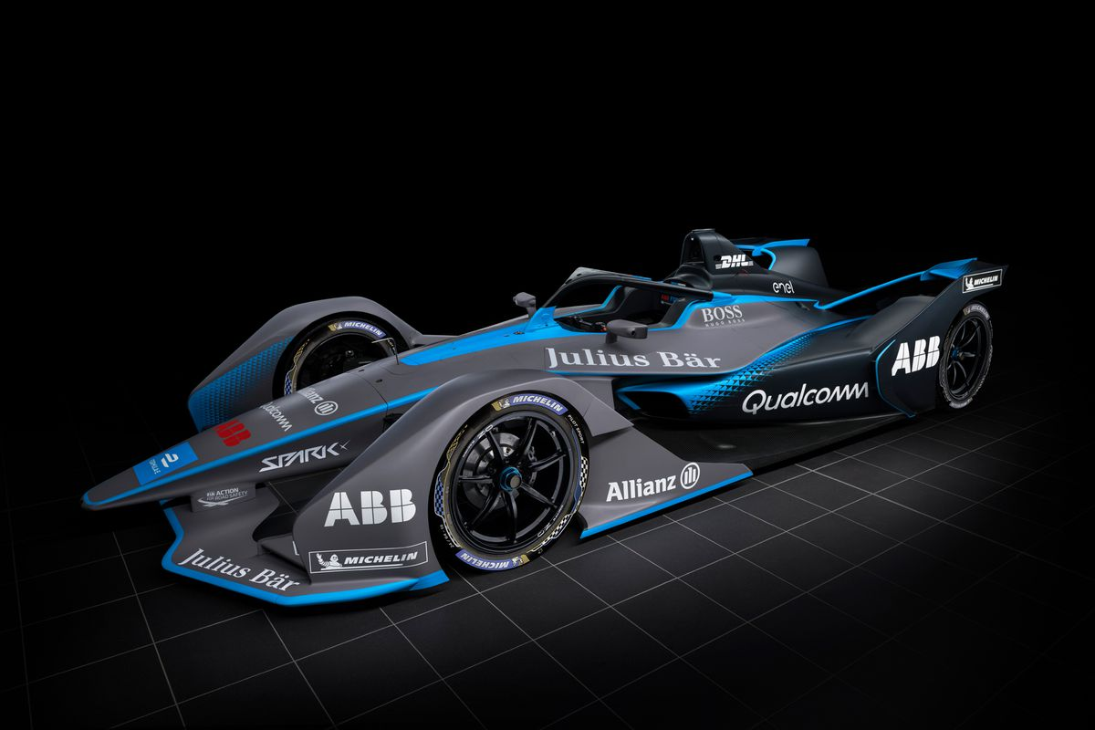 Car Show Display Ideas >> Formula E's wild new racecar makes electric racing look cool - The Verge