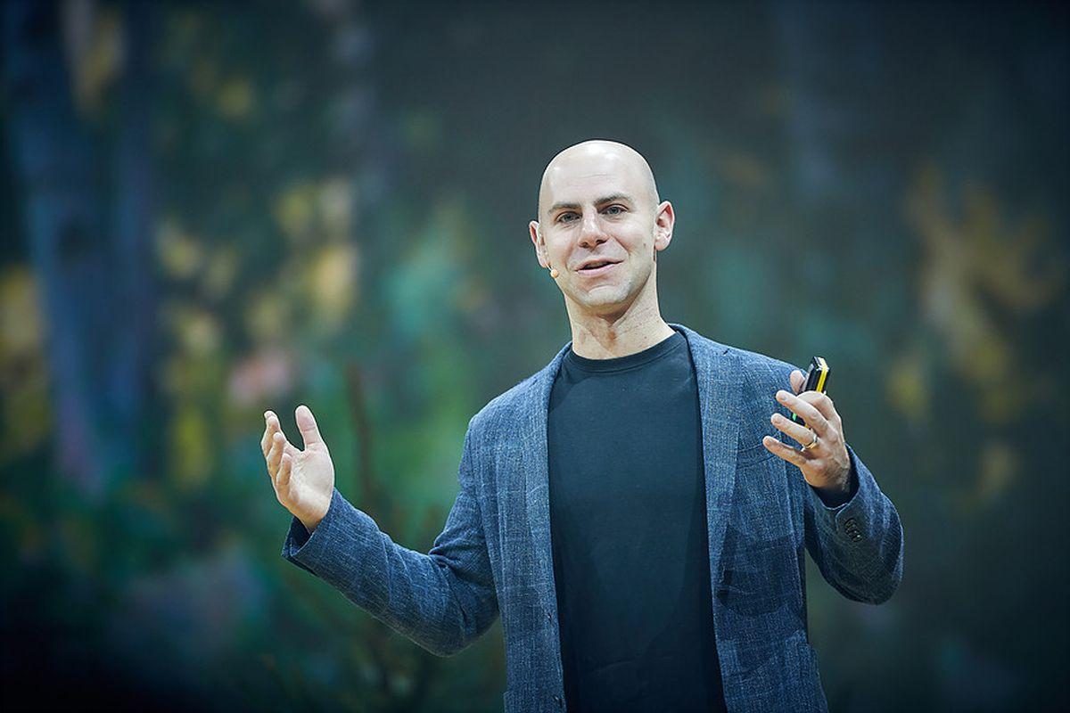 Psychologist and author Adam Grant
