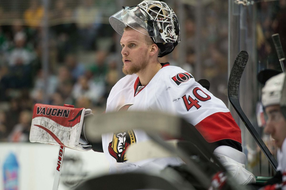 Is it hard to say no to Robin Lehner's demands?