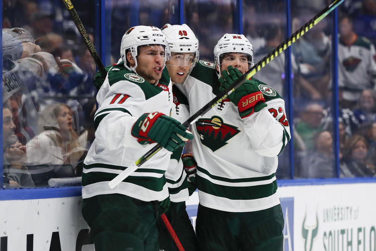 NHL: DEC 05 Wild at Lightning
