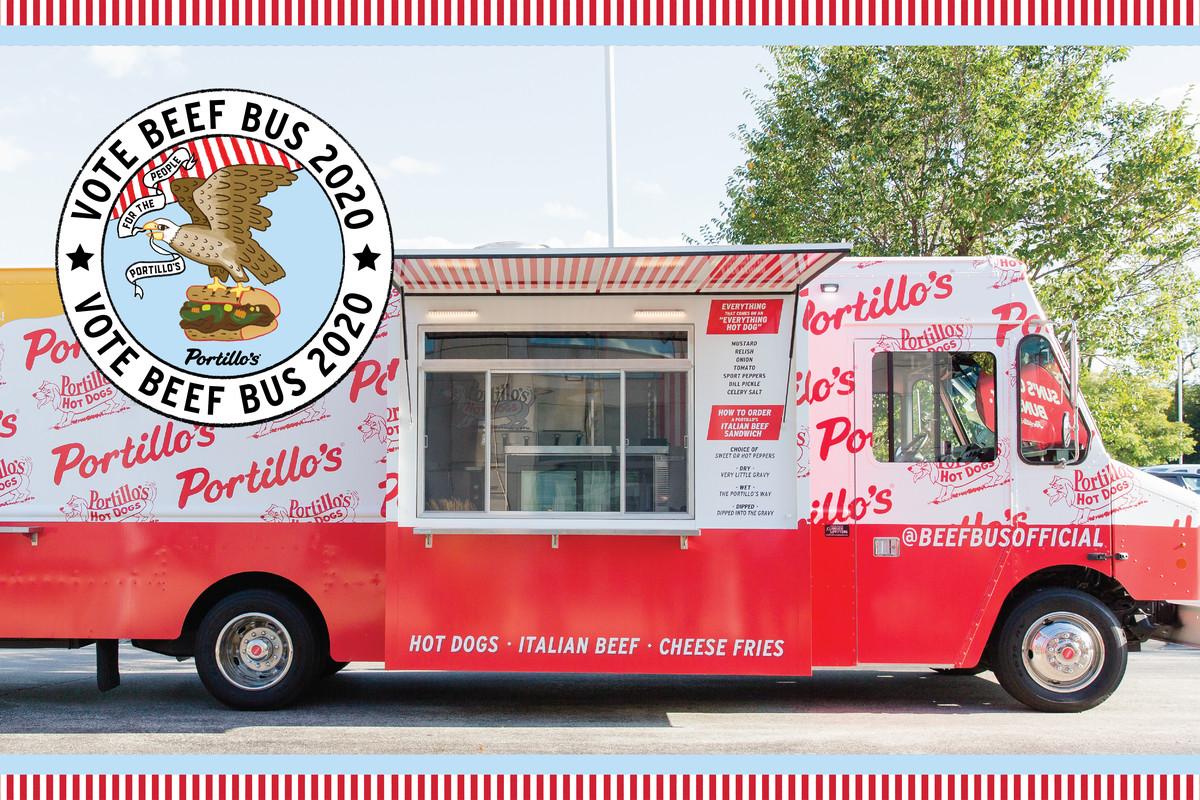 Portillo's food truck
