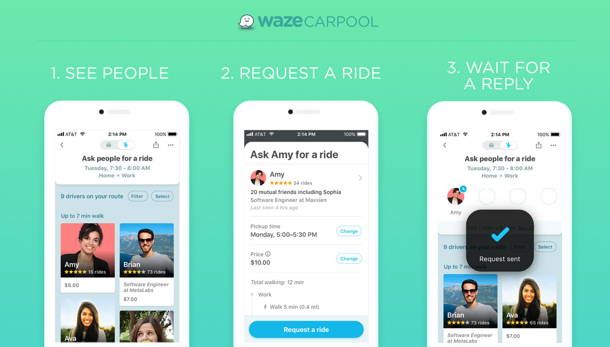 Google S Waze Is Making A Big Nationwide Bet On Carpooling The Verge