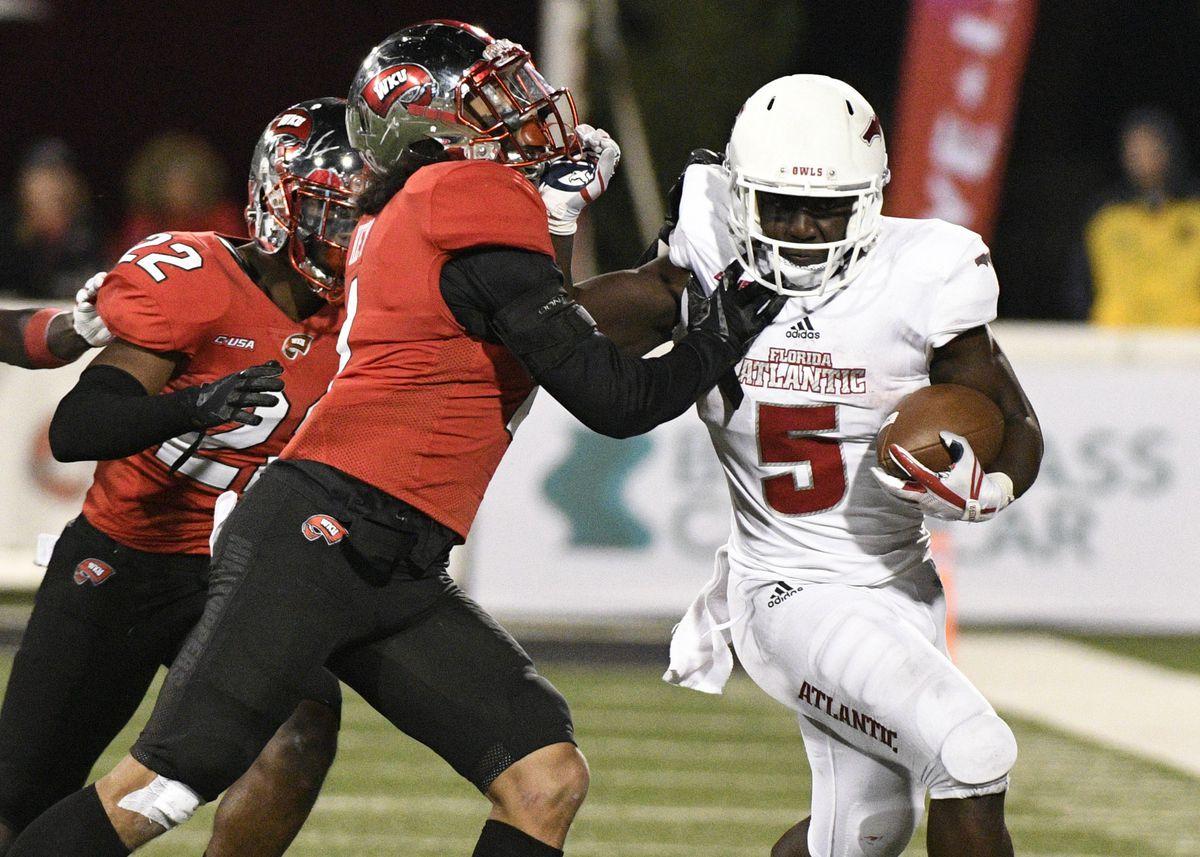NCAA Football: Florida Atlantic at Western Kentucky