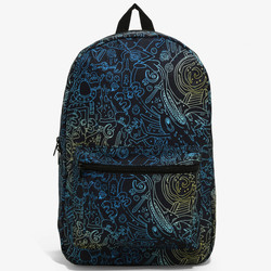 """<a class=""""ql-link"""" href=""""https://www.boxlunch.com/product/rick-and-morty-maze-backpack/11431244.html?cgid=accessories-bags#sz=60&start=63"""" target=""""_blank"""">Rick and Morty Maze Backpack</a>, $31.92"""