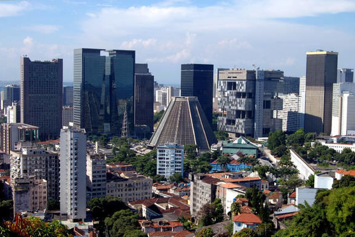 The financial center of Rio de Janeiro, Brazil, is shown in this photo. A little expert guidance can help you navigate differences in law and culture that might affect your business with Brazil.