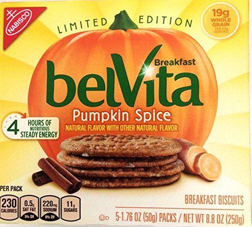 Belvita Pumpkin Spice cookies