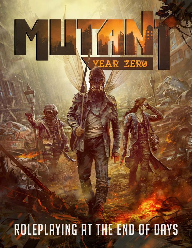 The 30th Anniversary Edition Of Mutant Is Published In United States By Modiphius Entertainment Core Book Also Called Year Zero
