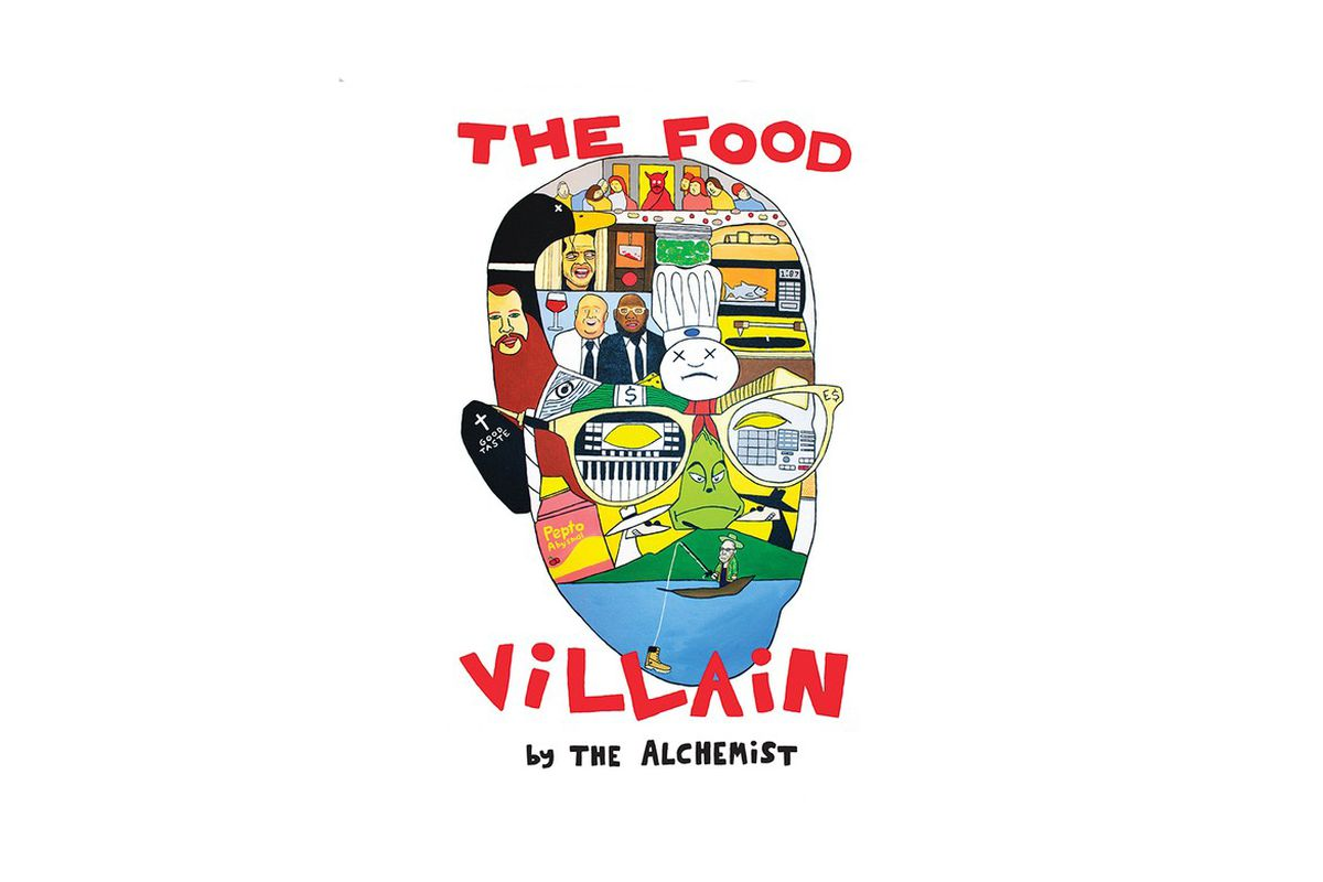 The Alchemist's 'The Food Villain' artwork
