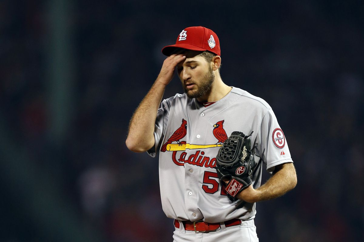 Michael Wacha, Cardinal draftee. Not a great moment, but an incredibly exciting young arm all the same.