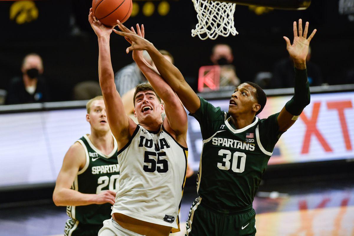 NCAA Basketball: Michigan State at Iowa