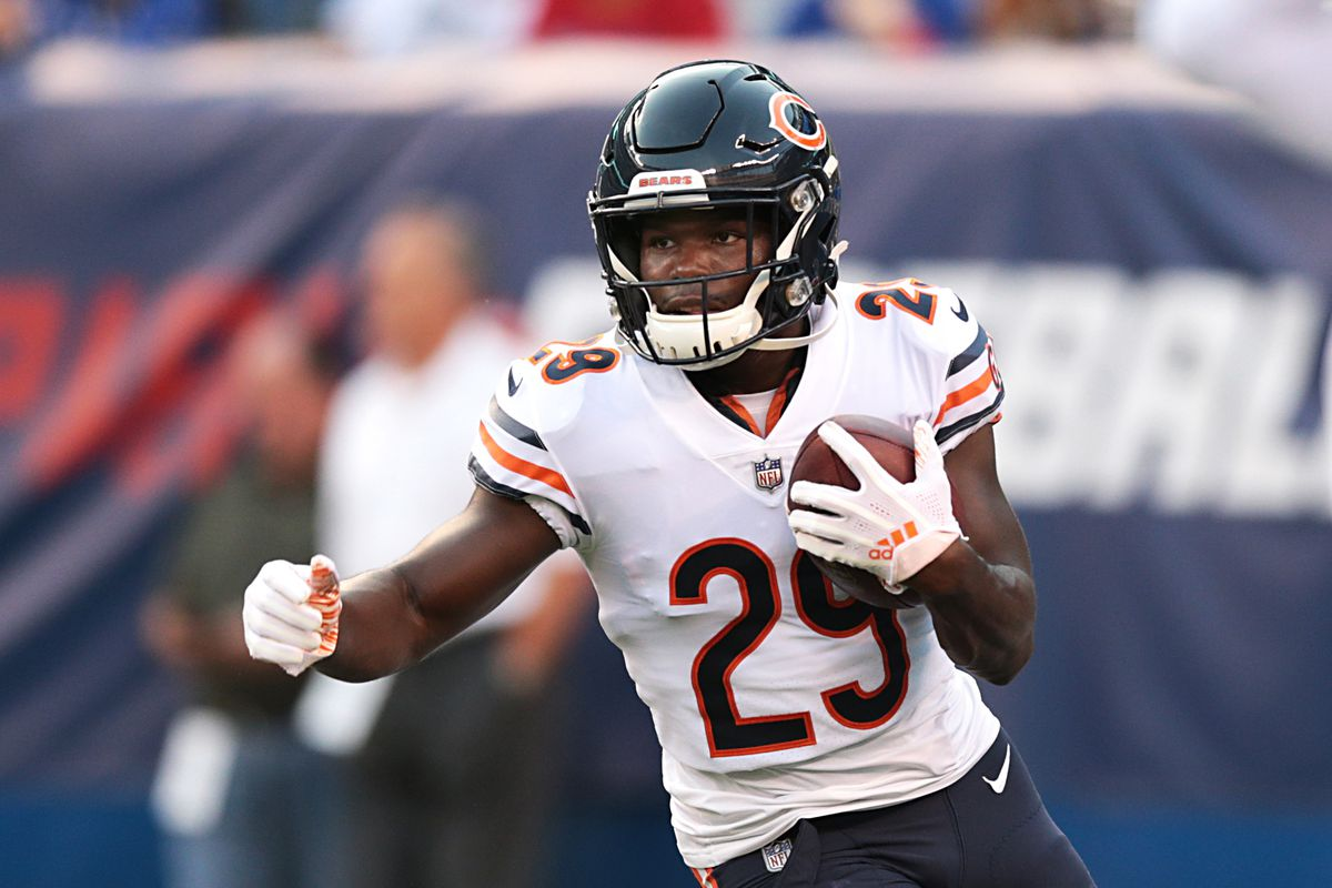 online store d1108 b5498 Tarik Cohen Fantasy Football, Week 3: Preview, DFS salary ...