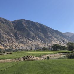 Hole No. 5 at the Timpanogo Golf Club.