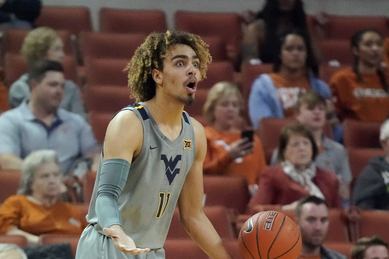 West Virginia Falls in Rematch Against Texas, 67-57