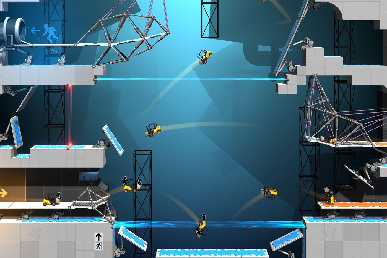 the next portal game is a bridge building simulator