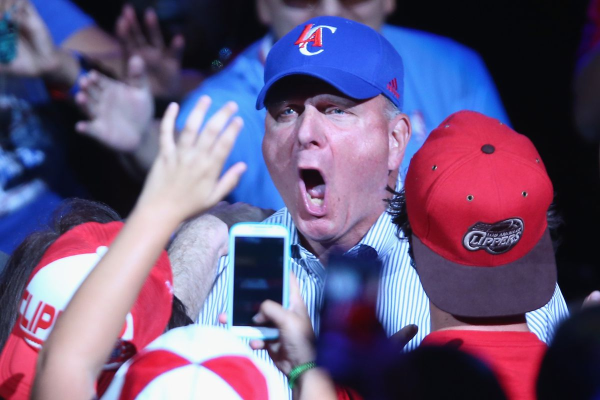 Steve Ballmer. He should really try and express his emotions some time.