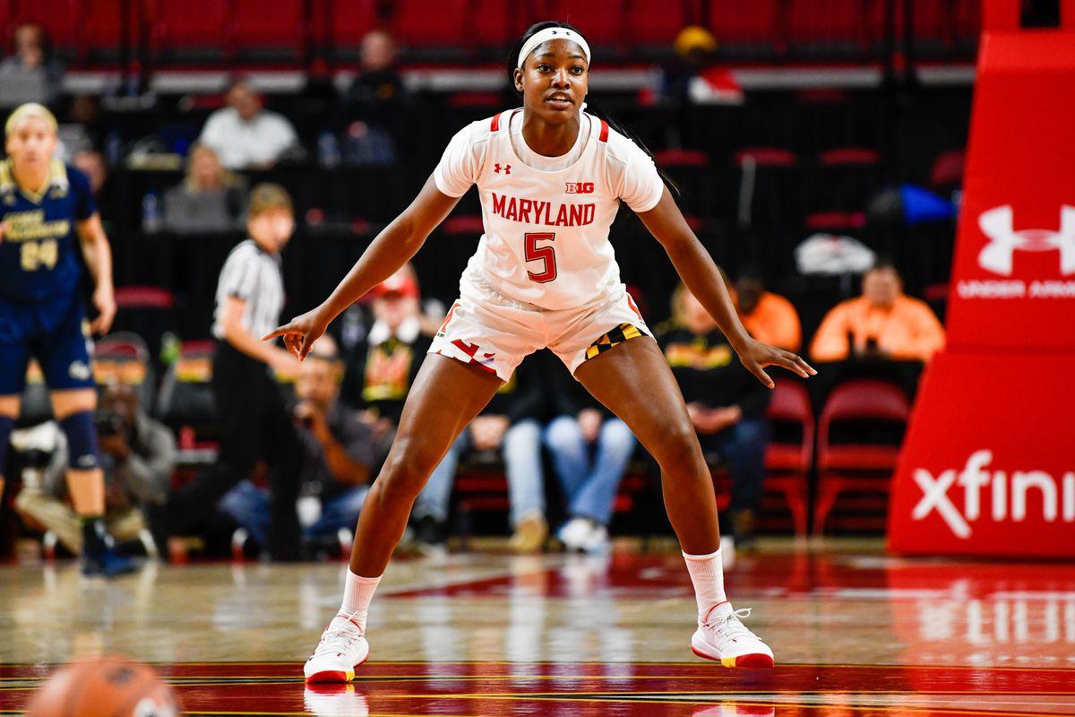 Kaila Charles, Maryland women's basketball, George Washington, 2019-20