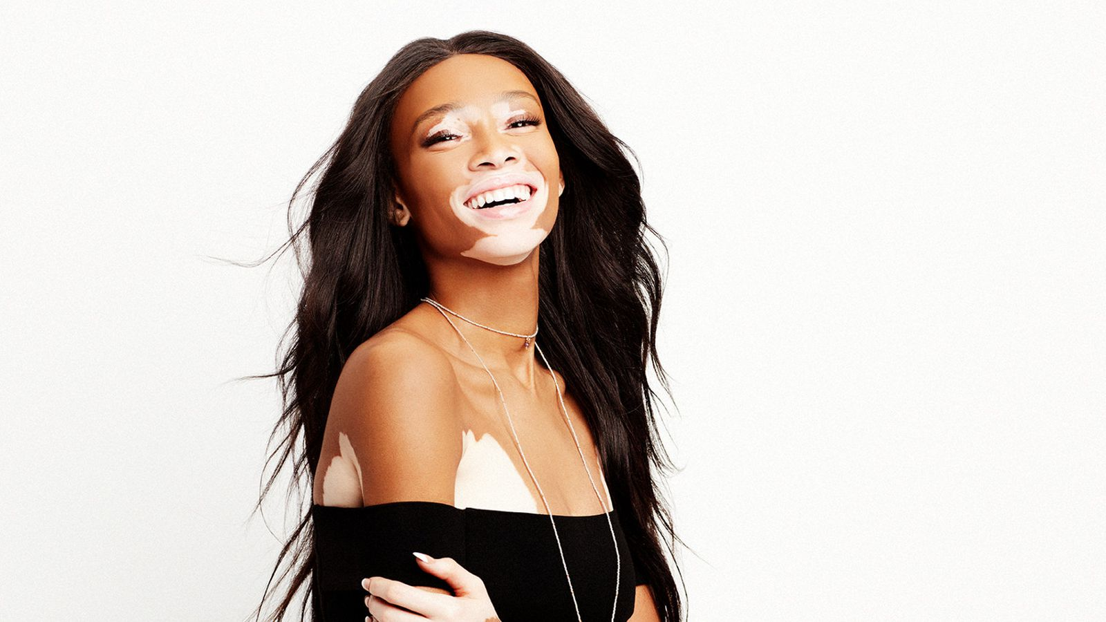 why model winnie harlow hates trying on clothes