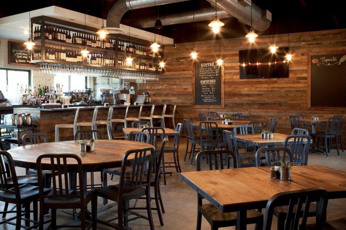 Inside Company Cafe