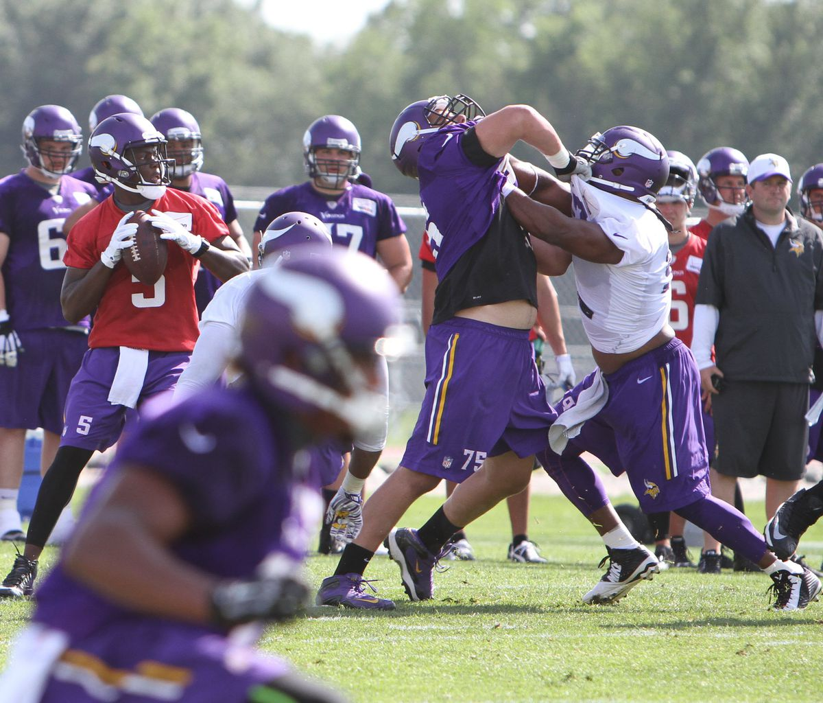Minnesota Vikings 2015 Training Camp Photo Gallery: July 27, 2015