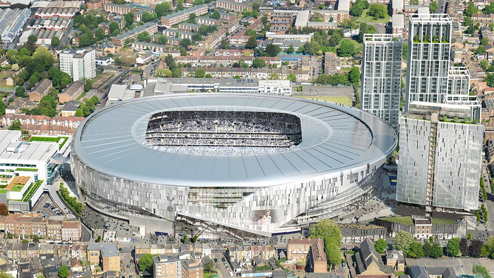New Tottenham Stadium Virtual Tour