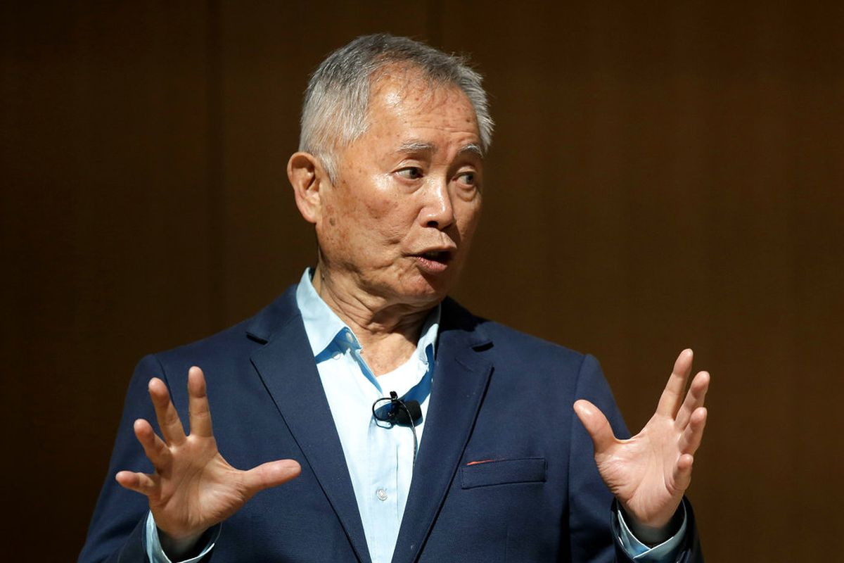 """""""Star Trek"""" actor George Takei speaks about his experiences in U.S. internment camps during World War II."""