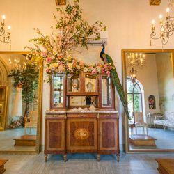 "<a href=""http://la.racked.com/archives/2014/06/11/explore_wedding_gown_guru_claire_pettibones_castle_on_beverly.php""><b>Claire Pettibone</b></a>'s dreamy castle."