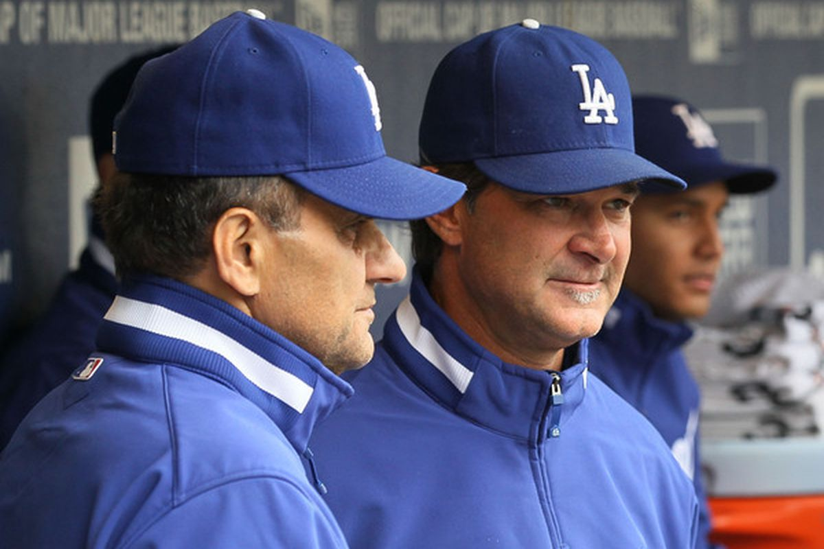 Joe Torre and Don Mattingly were in the first base dugout the last time the Yankees visited Dodger Stadium