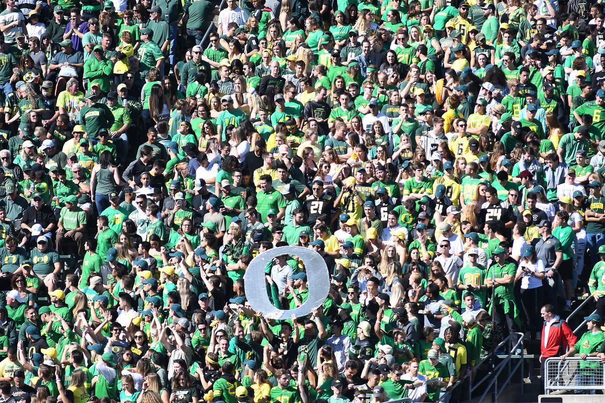 COLLEGE FOOTBALL: OCT 13 Washington at Oregon
