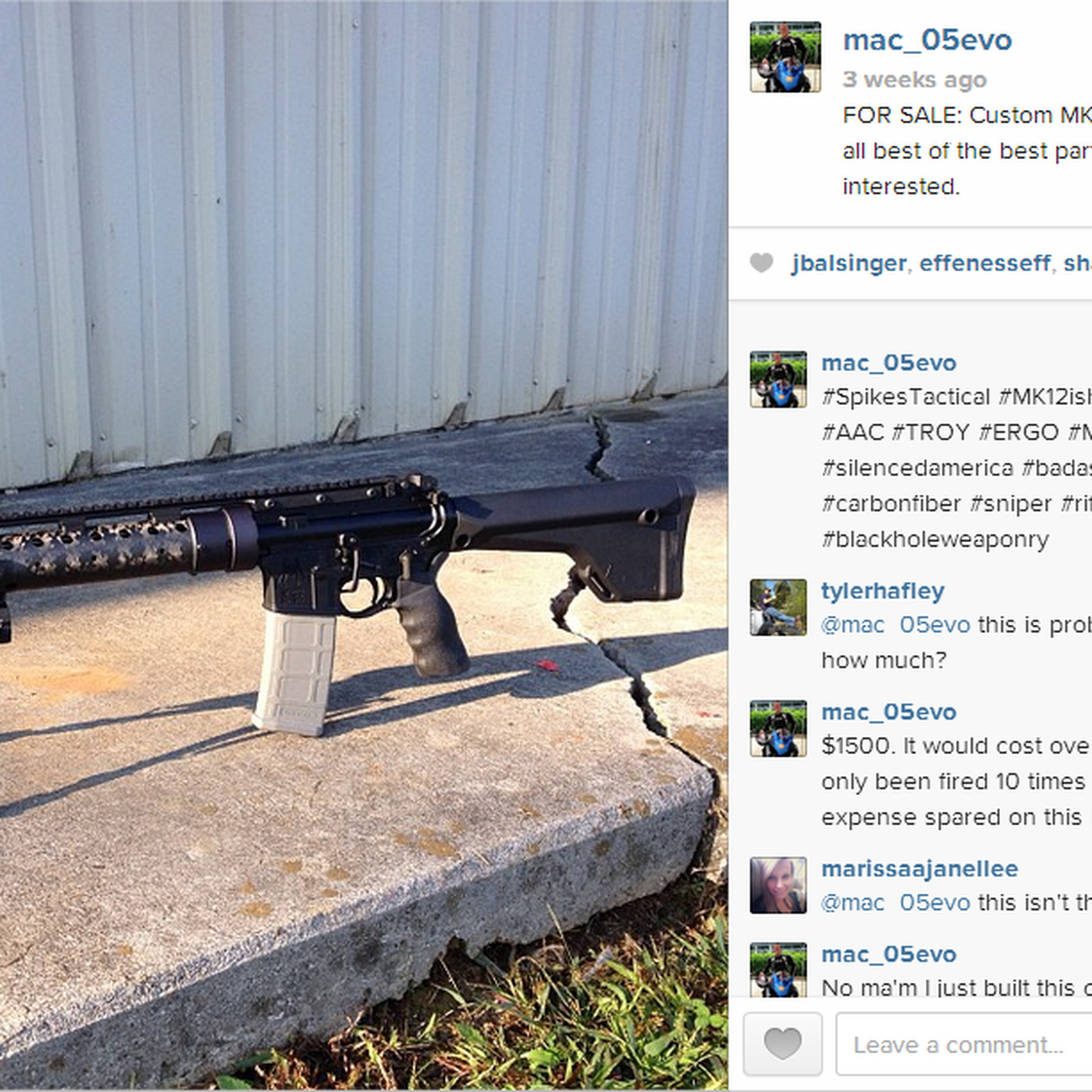 People Are Using Instagram To Sell Guns The Verge
