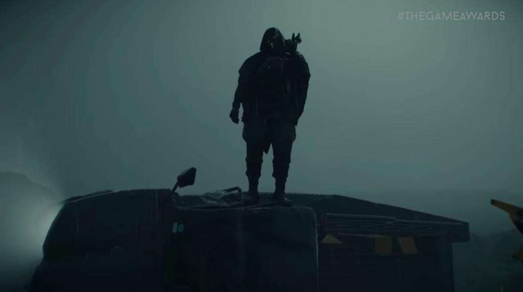 hooded figure in death stranding