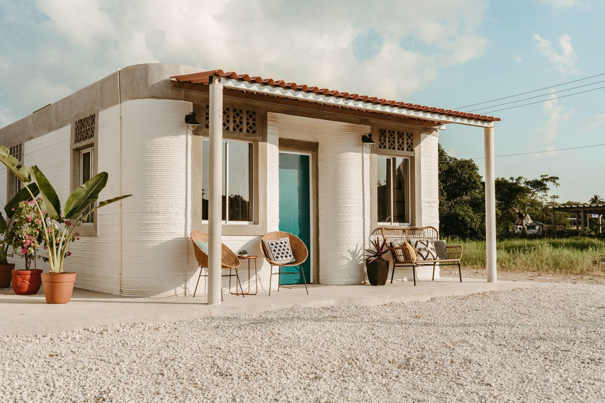 3d Printed Homes Will House Low Income Families In Mexico Curbed