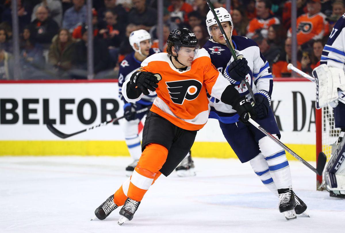 NHL: Winnipeg Jets at Philadelphia Flyers