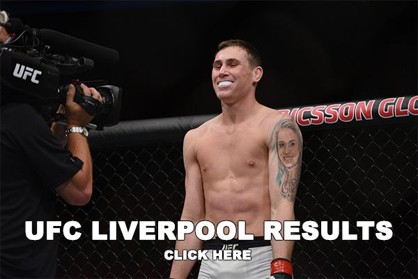 UFC Liverpool Results