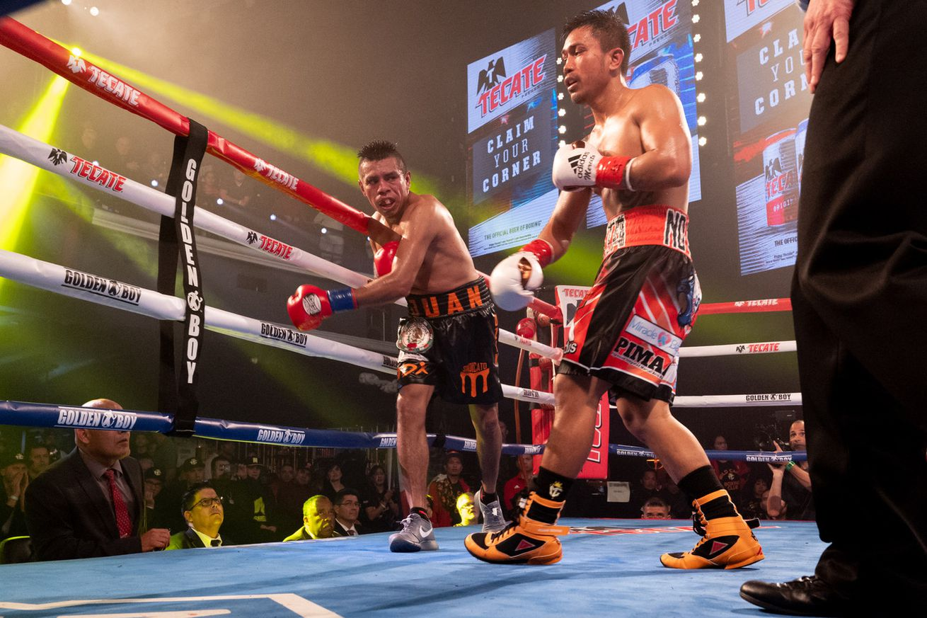 Unknown 19.0 - Rodriguez upsets Gesta in Hollywood