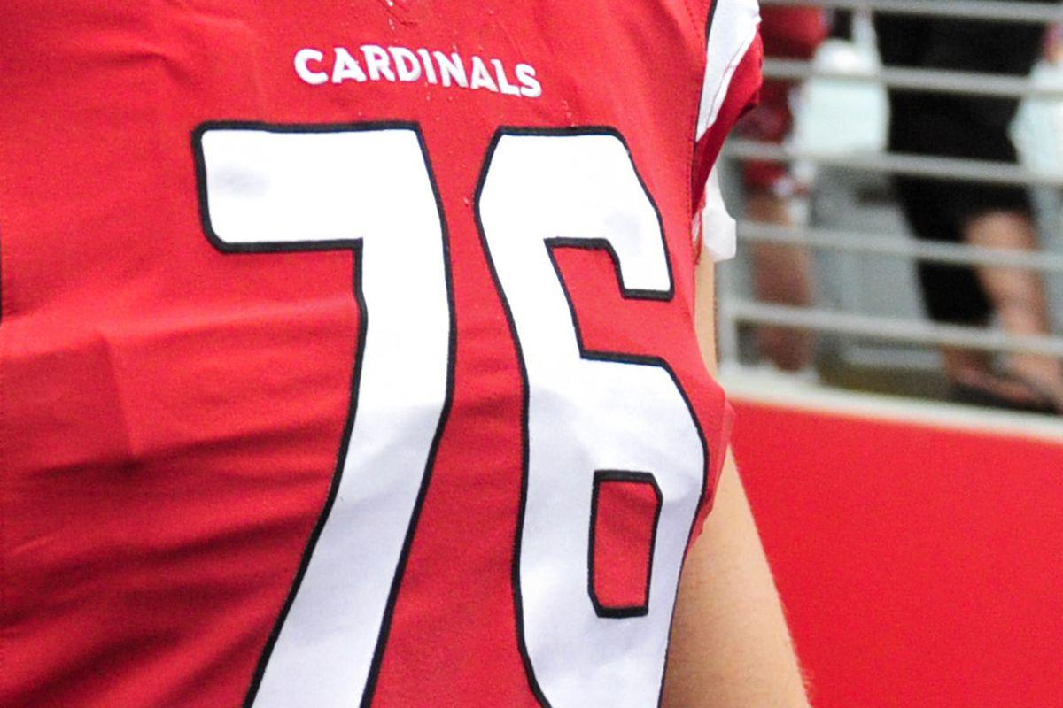dad5f1d4c 2015 NFL countdown  76 days and a look at Cardinals uniform No. 76 ...