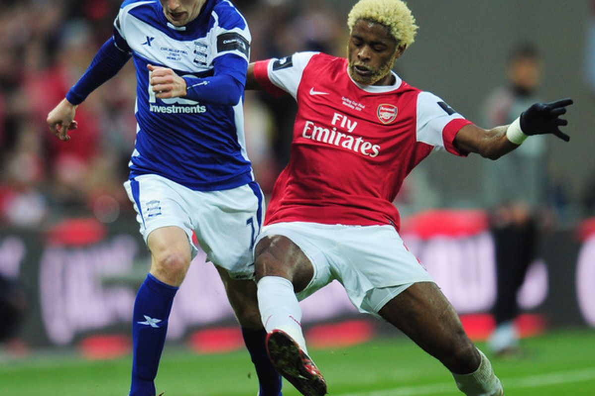 Alex Song, in more innocent times