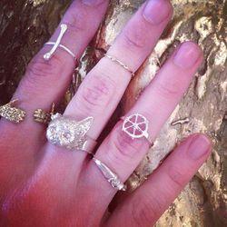 """<a href=""""http://instagram.com/p/aMdu-mGTn0/"""">@verameat</a>: """"#bejewel yourself in some #Verameat #bling!"""""""